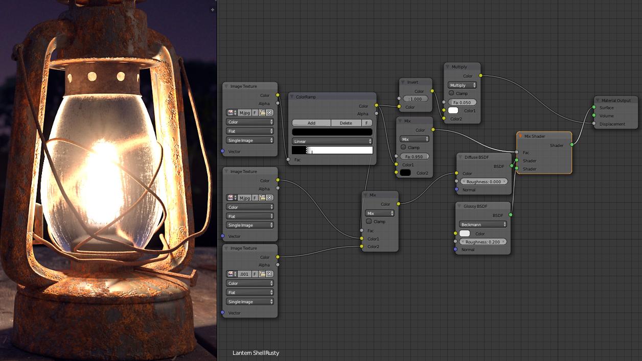 blenderで初めて3Dモデリングしてみたら…