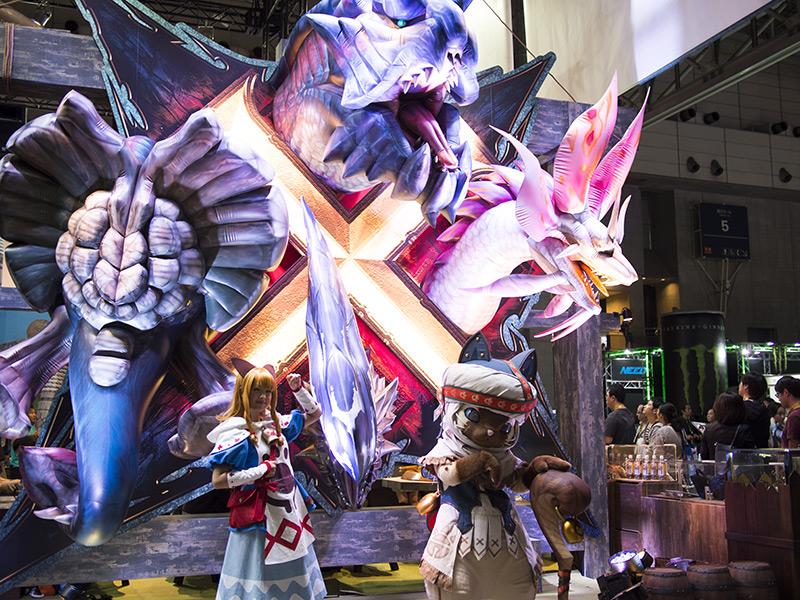 TGS 東京ゲームショウ2015 EA,SONY,バンナム,CAPCOM,etc…